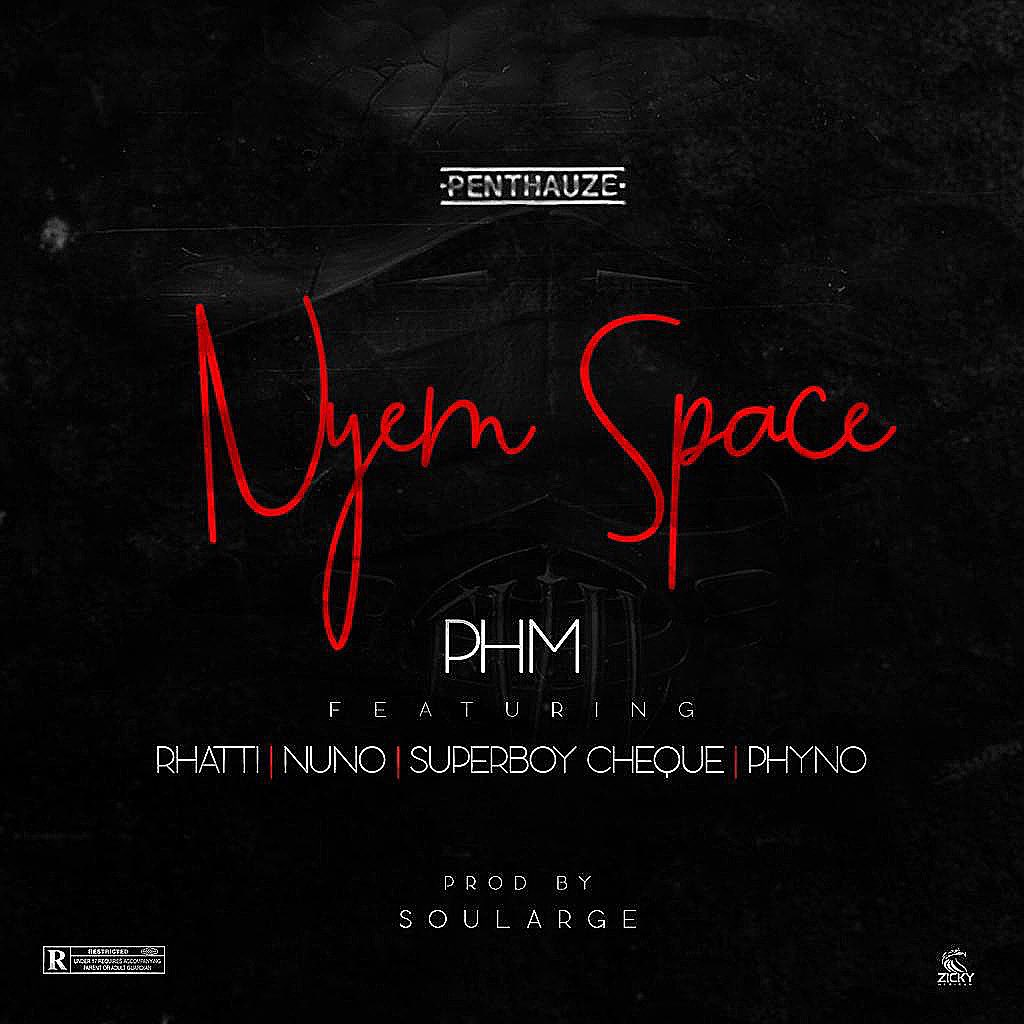Phyno ft. Rhatti, Nuno, Superboy Cheque & PHM - Nyem Space Mp3 Audio