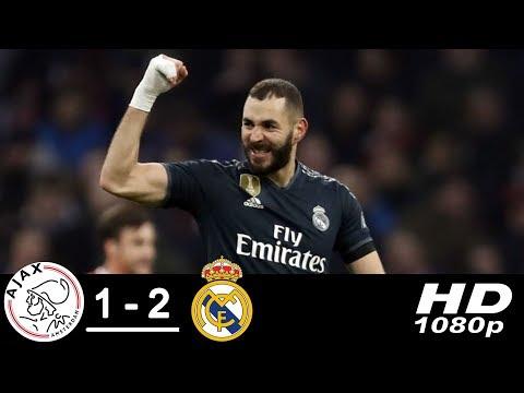 VIDEO: Real Madrid Vs Ajax 2-1 UCL 2019 Goals & Highlights Mp4