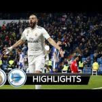 VIDEO: Real Madrid Vs Deportivo Alaves 3-0 LA Liga 2019 Goals & Highlights