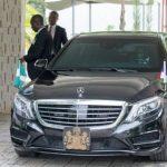 Checkout President Buhari's Bullet Proof MayBach S560 worth £438k (210,023,738.60 naira)