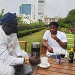 Olamide Wines And Dines With Warri Billionaire, Ayiri (Photo)
