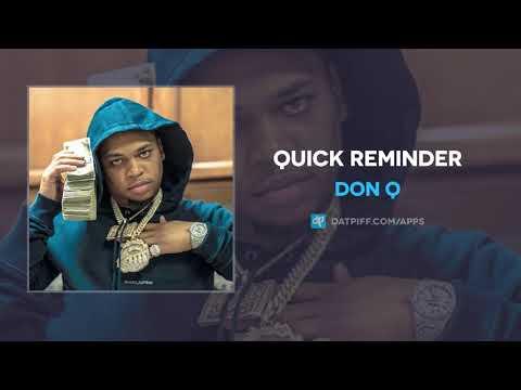 Don Q - Quick Reminder Mp3 Audio Download