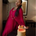 Billionaire's Daughter Temi Otedola celebrate her 23rd Birthday in Stunning outfit (Photos)
