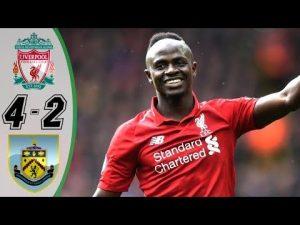 VIDEO: Liverpool Vs Burnley 4-2 EPL 2019 Goals Highlights Mp4