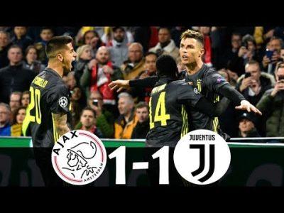 VIDEO: Ajax vs Juventus 1-1 UCL 2019 Goals Highlights Mp4 Download