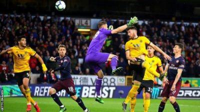 VIDEO: Arsenal  Vs Wolves 1-3 EPL 2019 Goals Highlights Mp4 Download