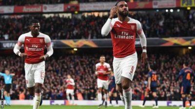 VIDEO: Arsenal Vs Valencia 3-1 Europa League 2019 Goals Highlights Mp4 Download