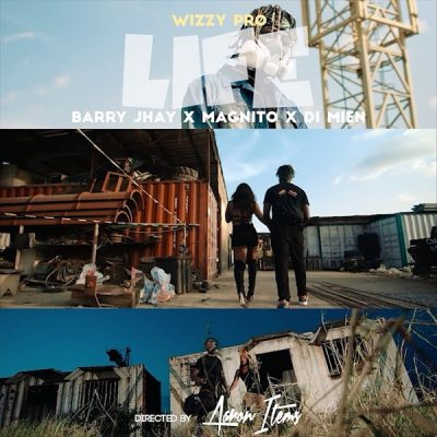 VIDEO: WizzyPro - Life ft. Barry Jhay, Magnito, Di Mien Mp4 Download