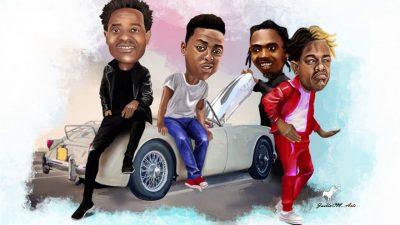ChindoMan Ft. Dogo Janja, Whozu & YoungLunya - WanaBoogie (Prod. by Prince Dully Sykes) Mp3 Audio Download