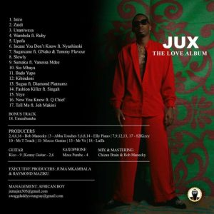 Jux - The Love Mp3 Audio Download song Music free Fast Download