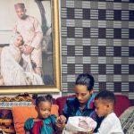 Dija And Husband, Rotimi Welcome 3rd Child, Ayana Wura