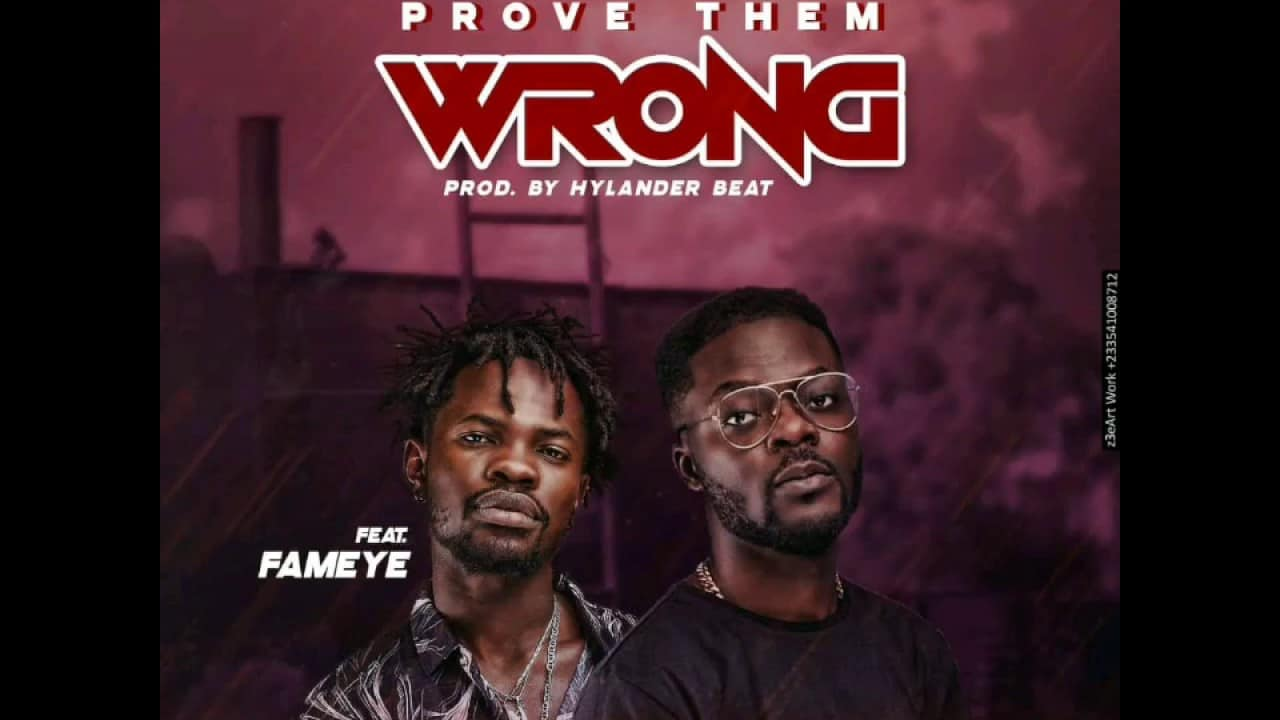 Cabum Ft. Fameye - Prove Them Wrong Mp3 Audio Download