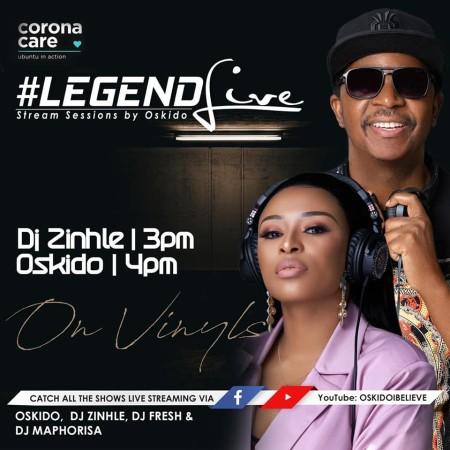 DJ Zinhle - Legend Live Mix Mp3 Audio Download