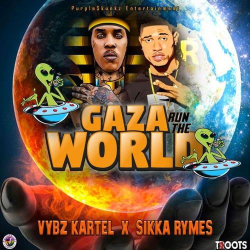 Vybz Kartel Ft. Sikka Rymes - Gaza Run The World Mp3