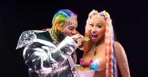 6ix9ine x Nicki Minaj - Trollz (Audio + Video) Mp3 Mp4 Download