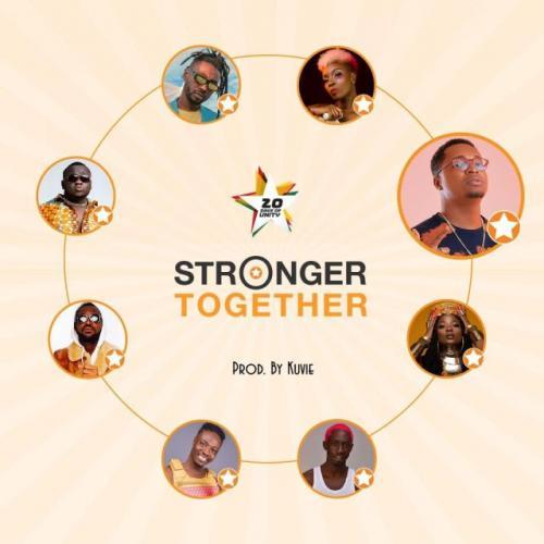 Efya, Yaa Pono, Bosom Pyung, Kojo Cue, Fancy Gadam, CJ Biggerman, Pappy Kojo, Feli Nuna - Stronger Together Mp3 Audio Download