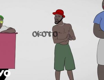 VIDEO: Broda Shaggi - Okoto Ft. Zlatan (Visualizer)