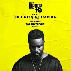 Sarkodie - 2019 BET Hiphop Cypher (Freestyle) Mp3 Audio Download