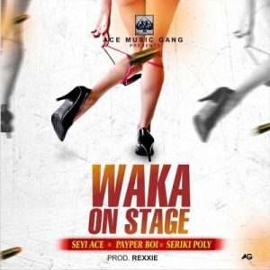 Seyi Ace Ft. Seriki Poly & Payper Boi - Waka On Stage (Audio + Video) Mp3 Mp4 Download