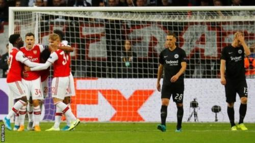 VIDEO: Arsenal Vs Frankfurt 3-0 Europa League 2019 All Goals Highlights Mp4 Download