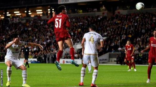 VIDEO: Liverpool Vs Mk Dons Carabao Cup 2019 Goals Highlight Mp4 3Gp HD Video Download