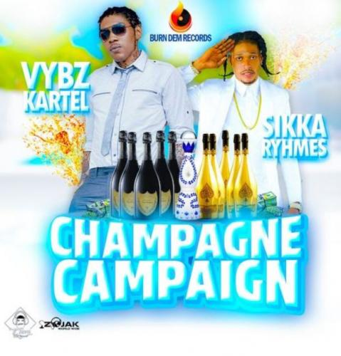 Vybz Kartel - Champagne Campaign Ft. Sikka Rymes Mp3 Audio Download