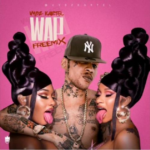 Vybz Kartel - Wap (Freestyle) Ft. Cardi B & Megan Thee Stallion Mp3 Audio Download