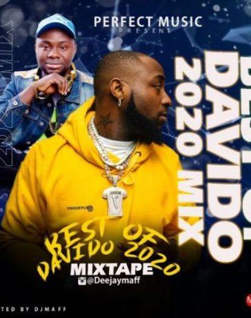 DJ Maff - Best Of Davido 2020 Mix (Mixtape) Mp3 Audio Download