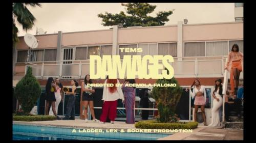 VIDEO: Tems - Damages Mp4 Download