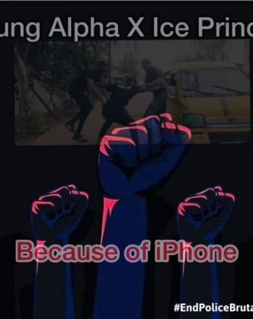 Yung Alpha Ft. Ice Prince - Because Of iPhone
