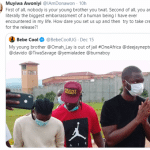"""Tems' manager, Muyiwa Awoniyi calls out Ugandan singer Bebe Cool , Calls him """"the biggest embarrassment of a human being"""" (Photos)"""