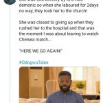 Pregnant Woman put her life at stake after refusing to do CS because her church believe it's demonic (Full Gist)