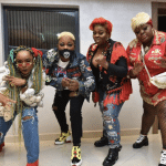Gangster Pictures of Chioma Akpotha, Funke Akindele & Eniola Badmus Hit The Internet