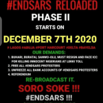 #Endsars: Massive Turnout in Lagos and Abuja As The Second Phase of End Police Brutality Starts Today (Video/Photos)