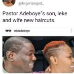 See People's Reactions to Pastor Adeboye's Son's New Hair Cut (Photos)
