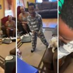 See this little boy's reaction as his father surprises him with PlayStation 5 as Christmas gift (Video)