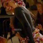 US rapper, Cardi B rocks gele and wrapper, dances the typical African dance (Video)