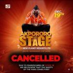 Akpororo slams Gov. Sanwo-Olu over for shutting down shows in Lagos