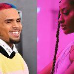 Chris Brown praises Nigerian singer, Tems, says she's so on fire