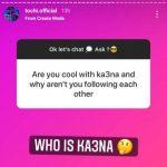 Wahala!!! BBNaija's Tochi pretends not to know his co-star Ka3na