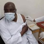Atiku becomes the 'first Nigerian' to receive Pfizer COVID-19 vaccine (Photos)