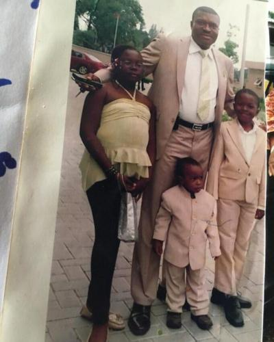 Kanayo shares throwback photo