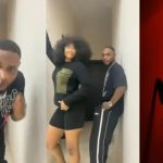 (watch) Tacha joins Silhouette Challenge with singer, L.A.X, Drops mouth watering video