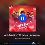 Kwadwo Sheldon – Val's Day Story Ft. Lyrical Joe, Amerado, Romeo Swag, Kev The Topic