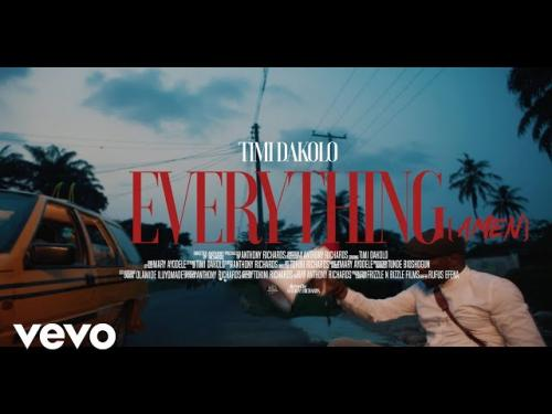 VIDEO: Timi Dakolo - Everything (Amen)