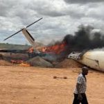 Breaking!!! All passengers onboard feared dead as Military aircraft crash in Abuja (video)