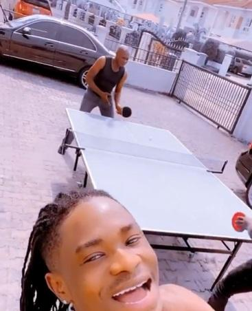 lil kesh father table tennis bet