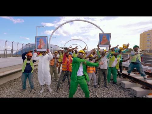 VIDEO: Harmonize - Kazi Lendelee Ft. H Baba, Awilo Longomba