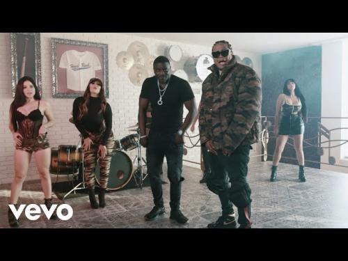 Akon Ft. Shelow Shaq - Con la Guitarra Mia