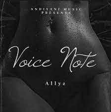 Allyz – Voice Note